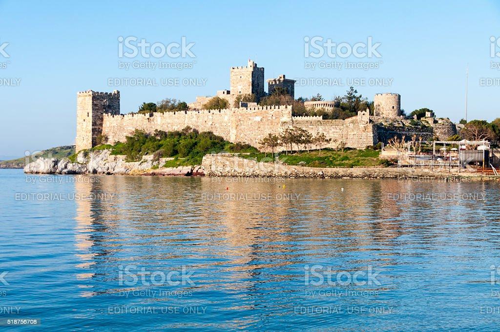 Bodrum Castle, Turkey stock photo