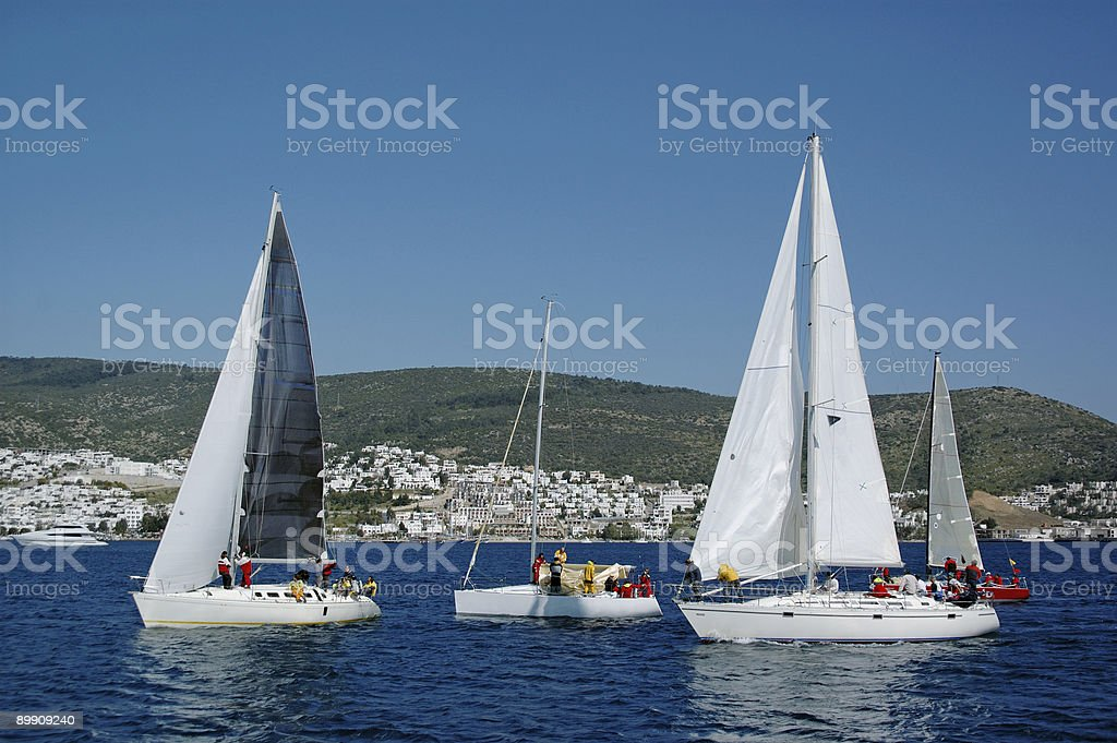 Bodrum Coast royalty-free stock photo