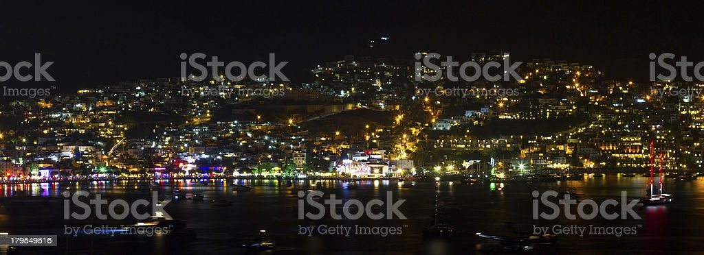 Bodrum Town royalty-free stock photo