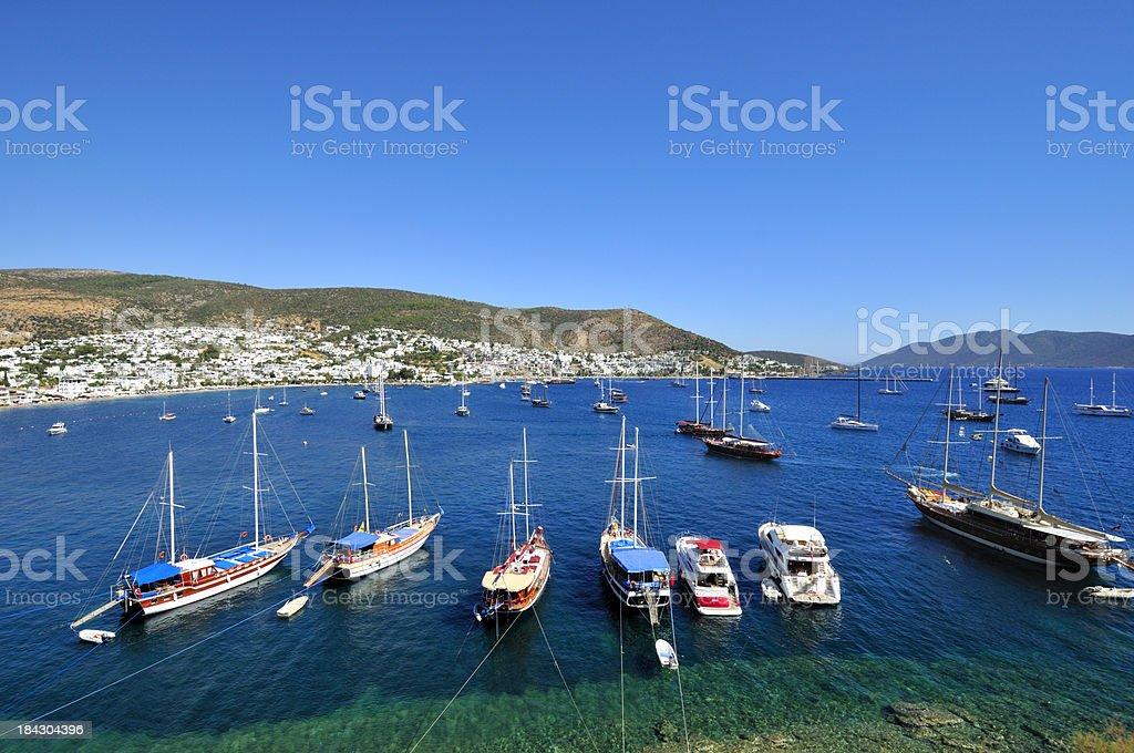 Bodrum, Turkey stock photo