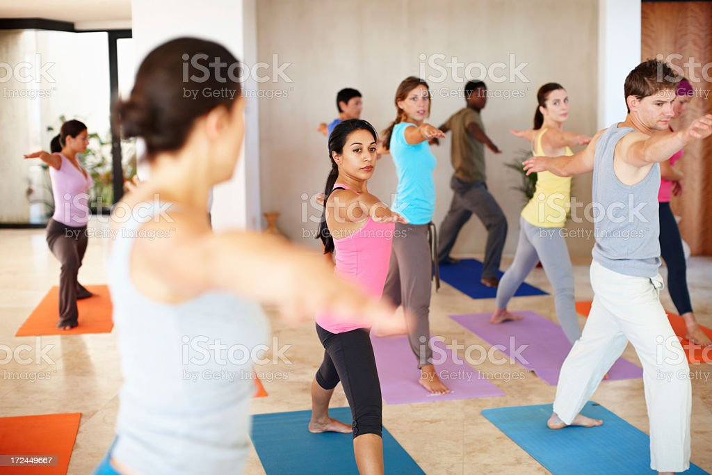 Body and balance royalty-free stock photo