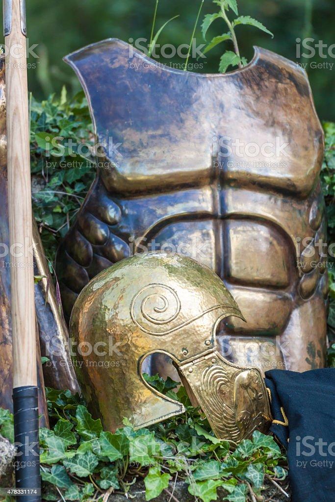 Body armor stock photo