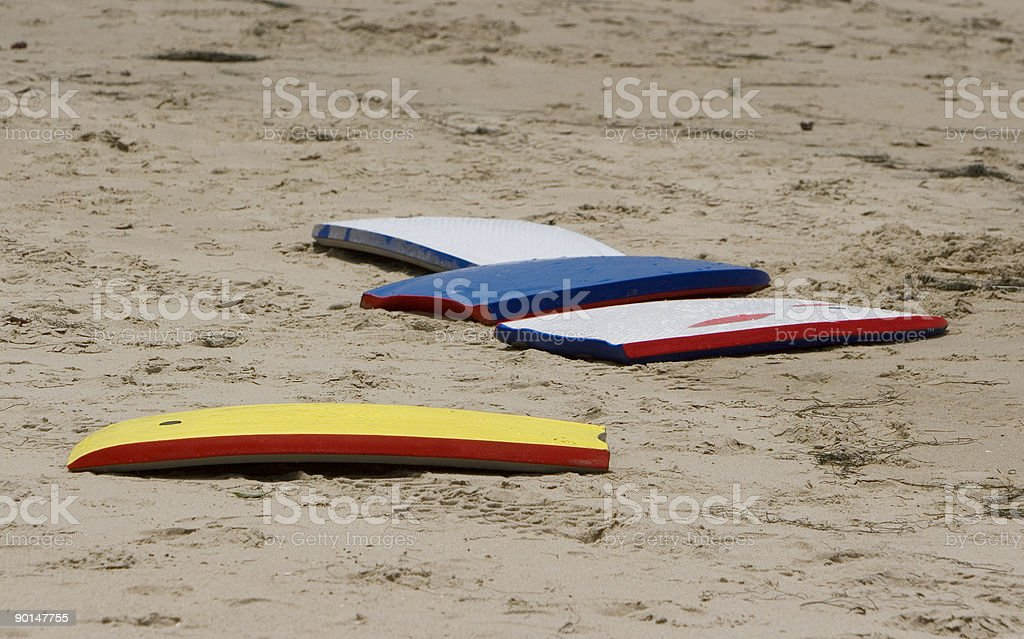 body boards royalty-free stock photo