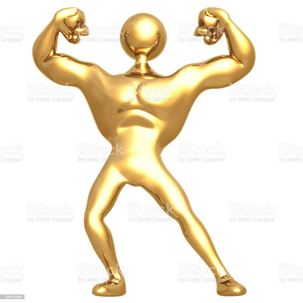 Body Build 02 royalty-free stock photo