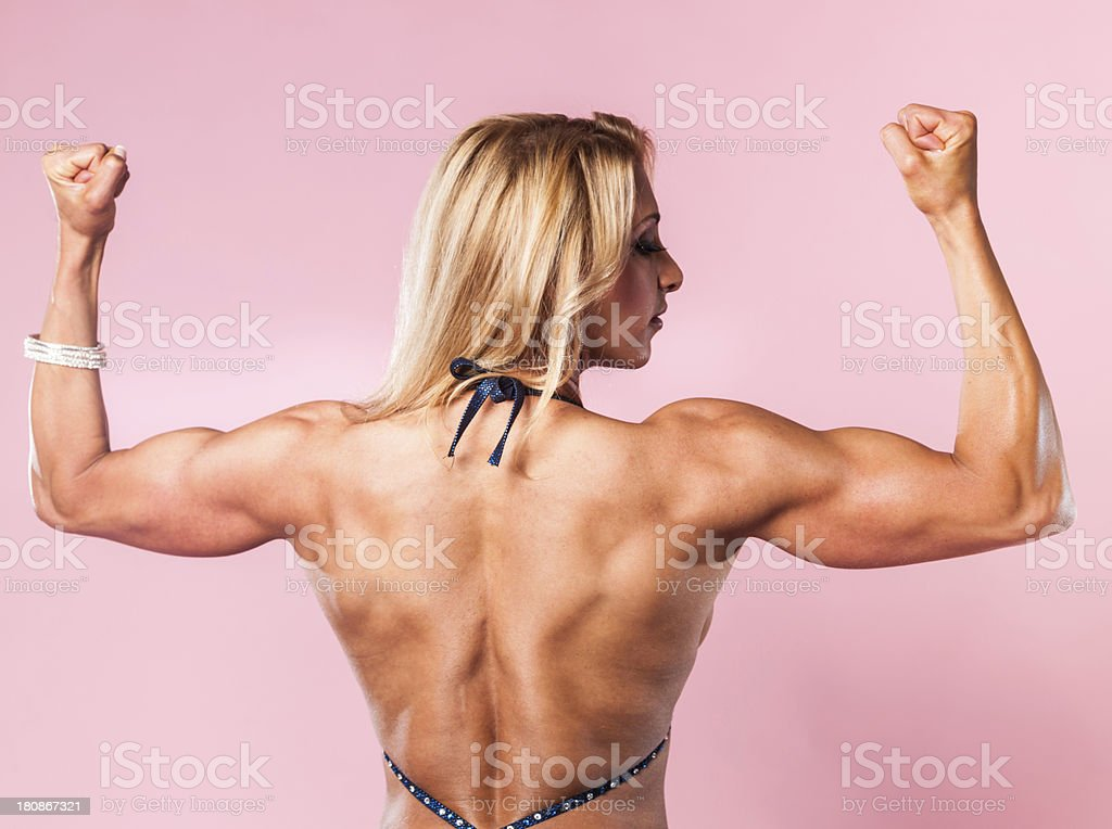 Body Builder Competition royalty-free stock photo
