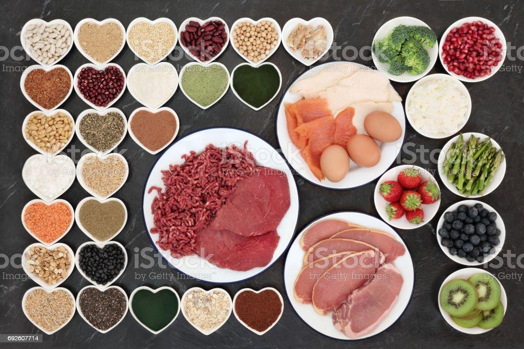 Body Building Health Food stock photo