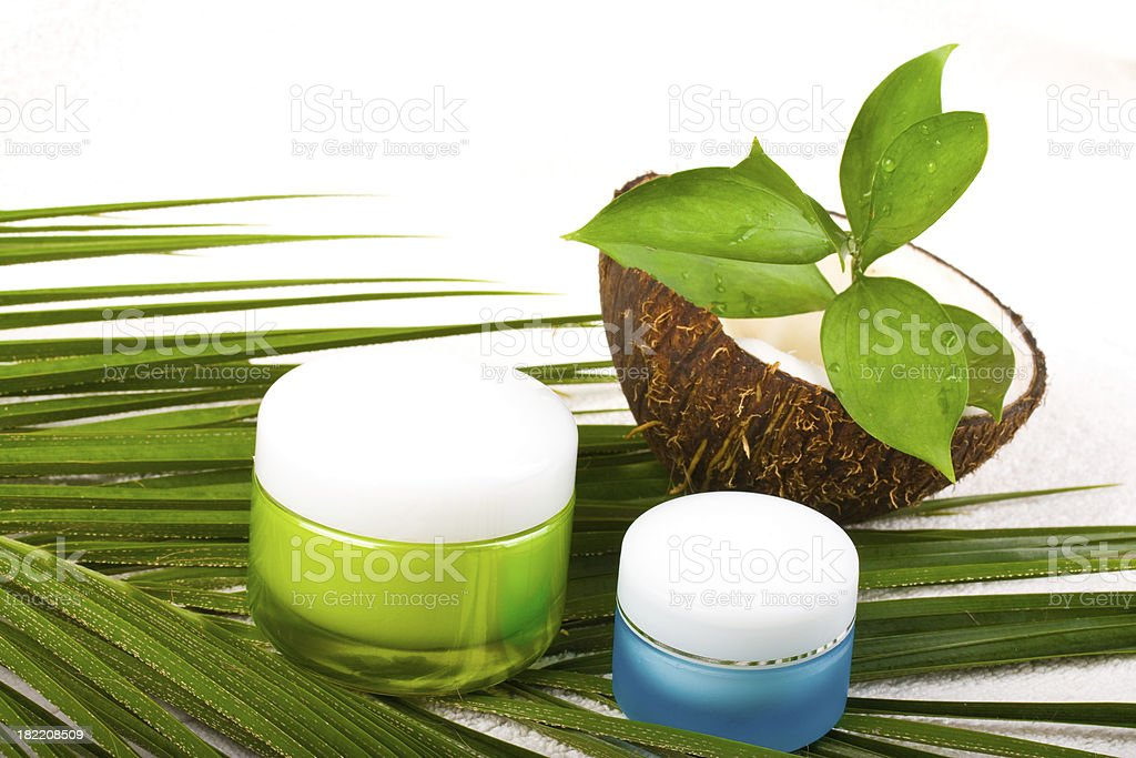 Body Care Cosmetics royalty-free stock photo