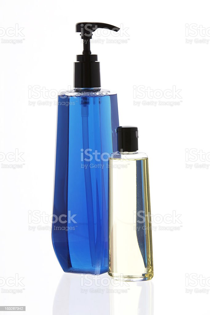 Body Care Oil and Soap Combo royalty-free stock photo