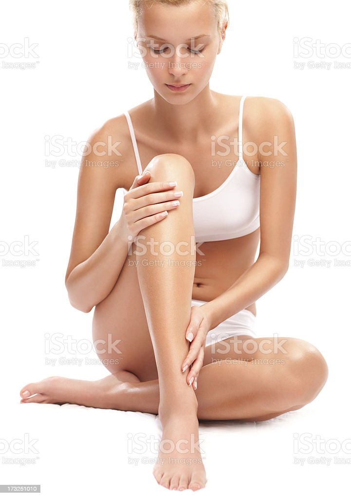 Body care. royalty-free stock photo