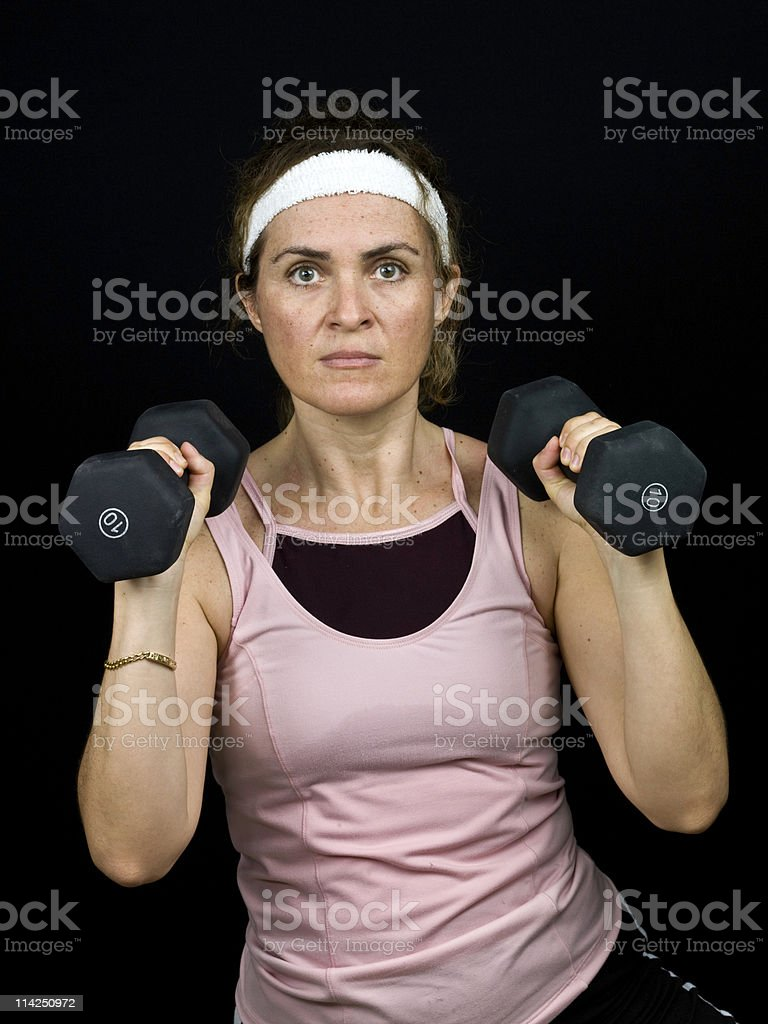Body Conscious stock photo