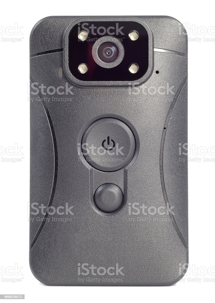 body front view camera stock photo