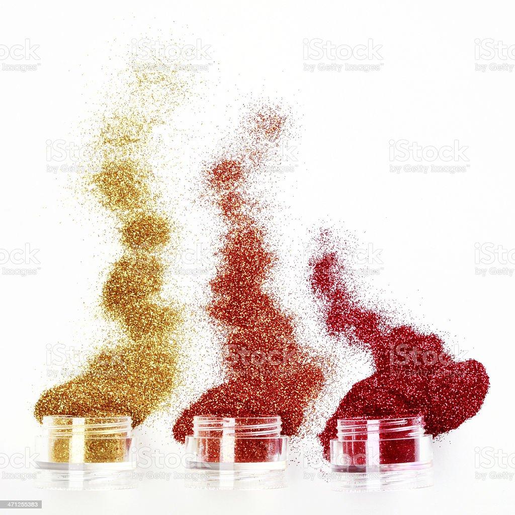 Body Glitter royalty-free stock photo