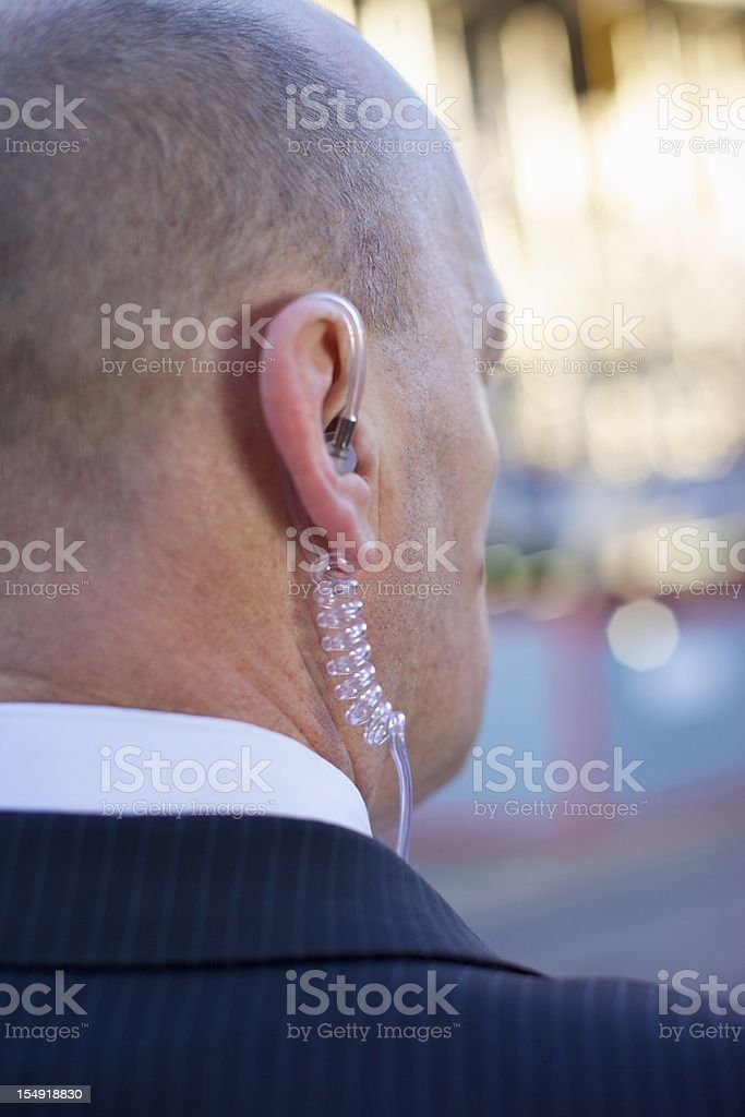 Body Guard... royalty-free stock photo