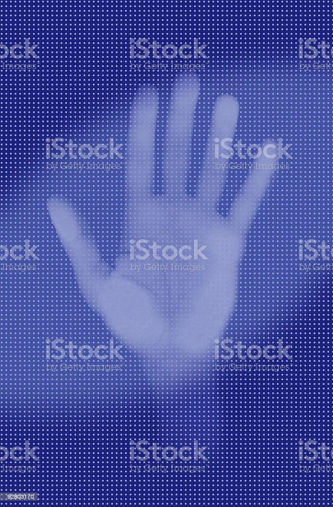 body - hand 01 royalty-free stock photo