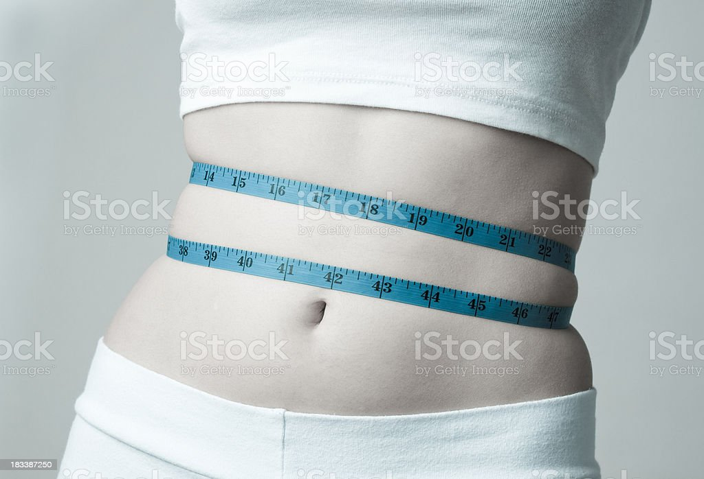 Body image and weight issues royalty-free stock photo