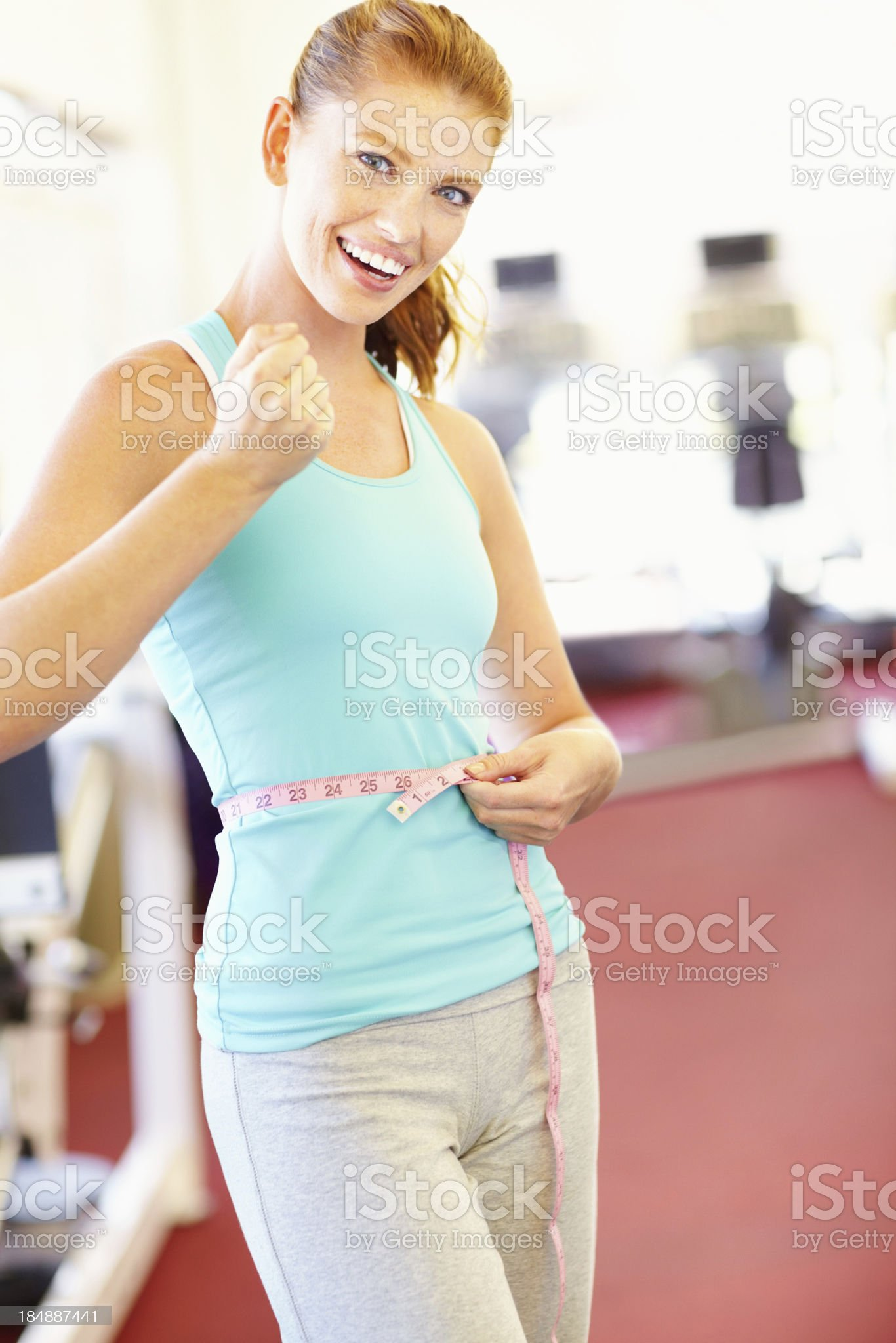 Body in shape royalty-free stock photo