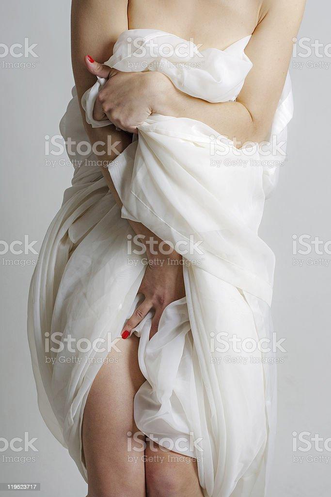 Cuerpo de mujer dulce foto de stock libre de derechos