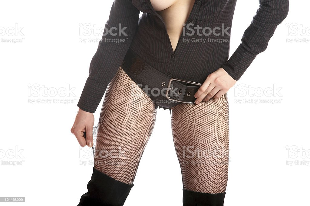 Body of the sexy girl stock photo