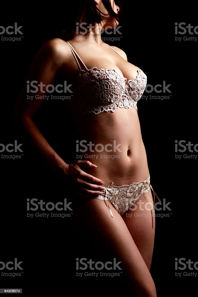 Body of young woman. royalty-free stock photo