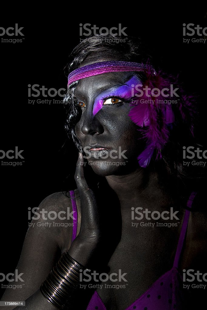 Body Paint royalty-free stock photo
