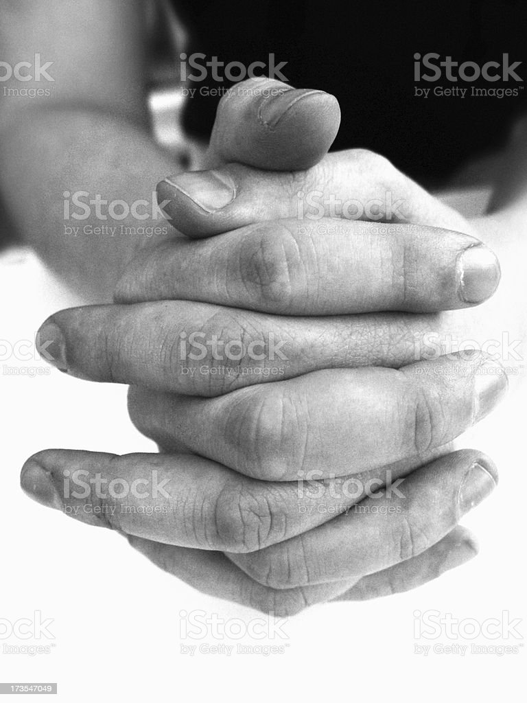 Body & People - Hands Close Up royalty-free stock photo