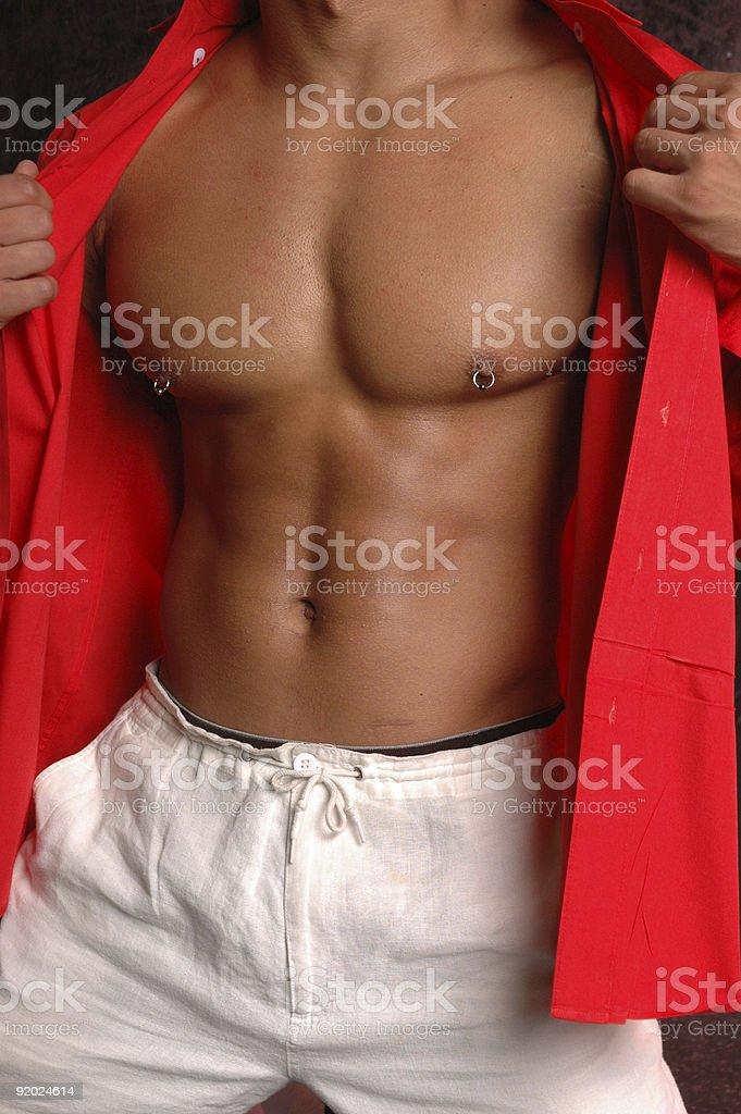 Body piercing royalty-free stock photo