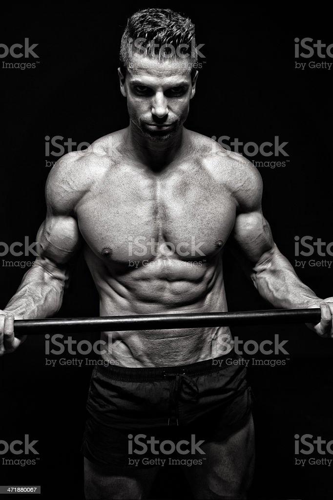 Body power royalty-free stock photo