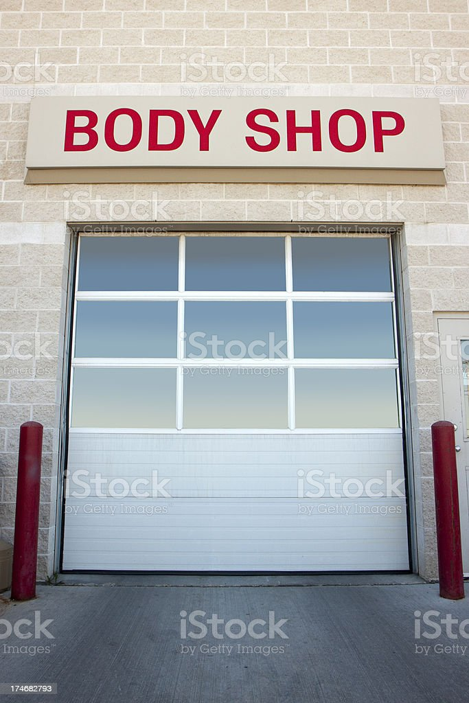 Body Shop royalty-free stock photo