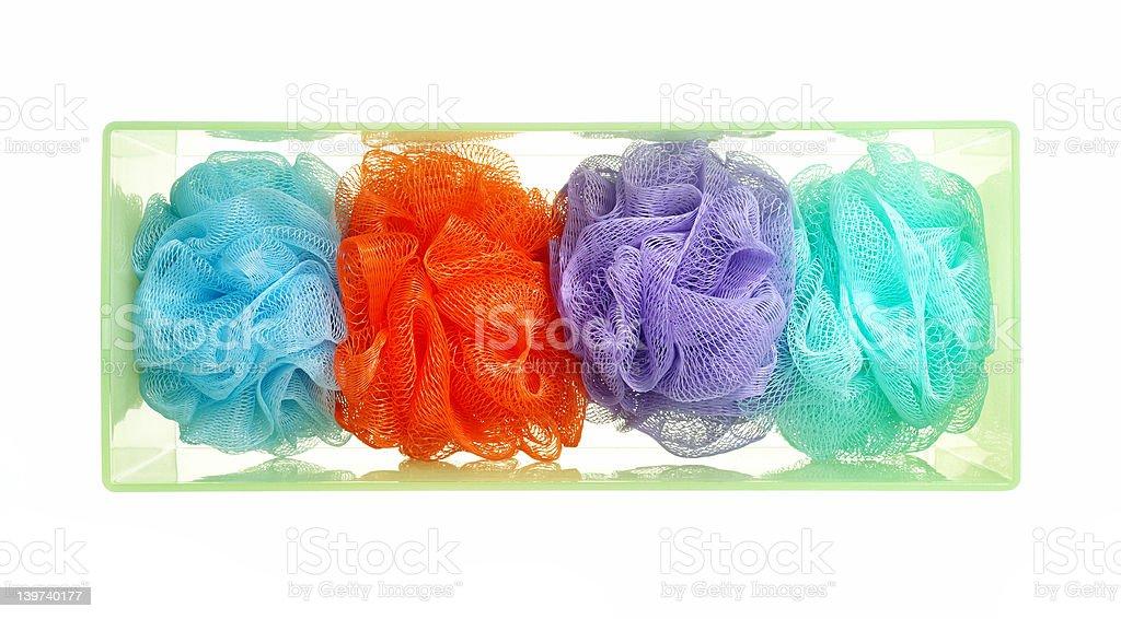 Body Sponges stock photo