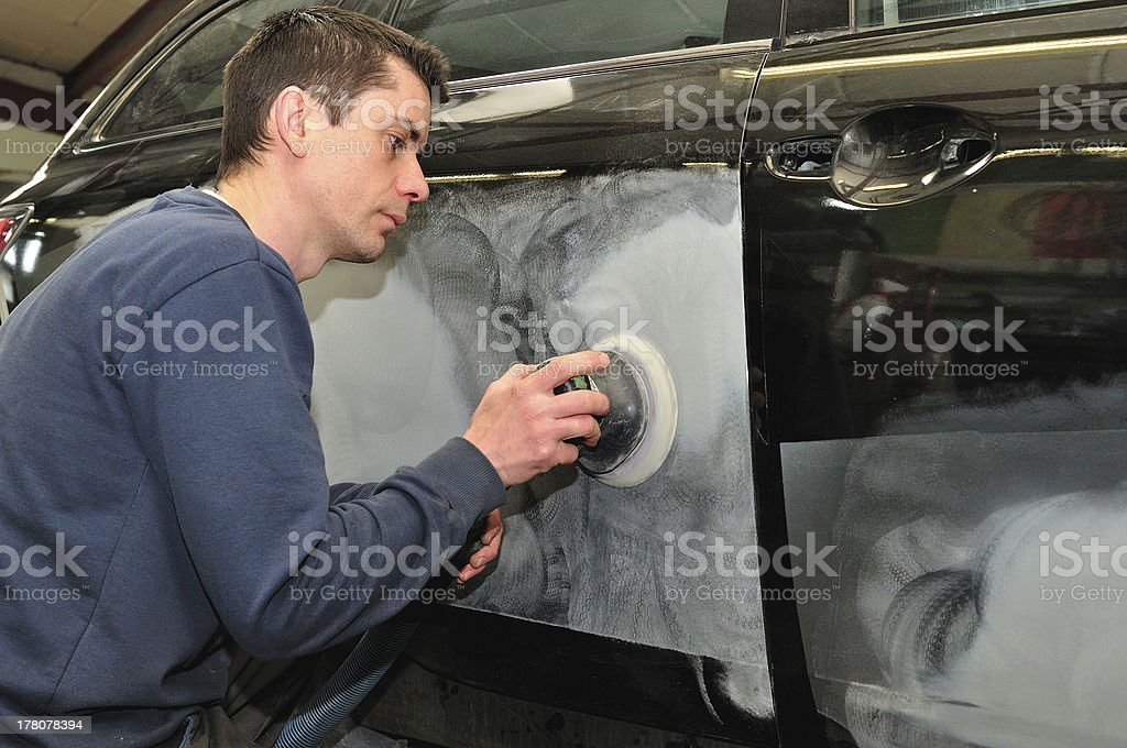 Body work. royalty-free stock photo