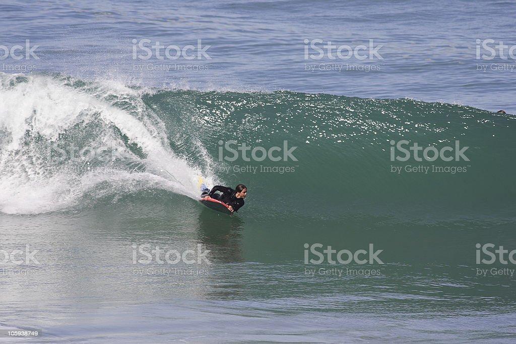 bodyboard stock photo