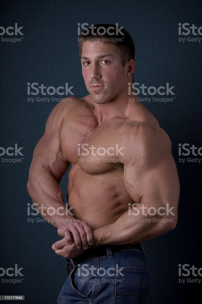 Bodybuilder Weightlifter royalty-free stock photo