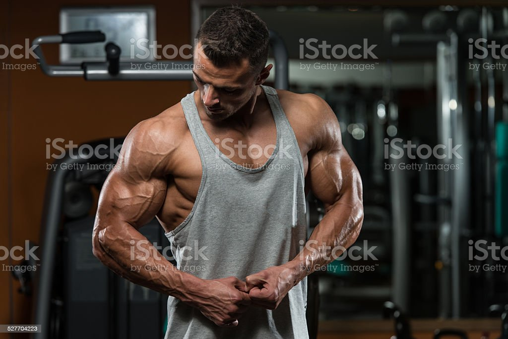 Bodybuilding Is Exercise And Nutrition At Its Best stock photo