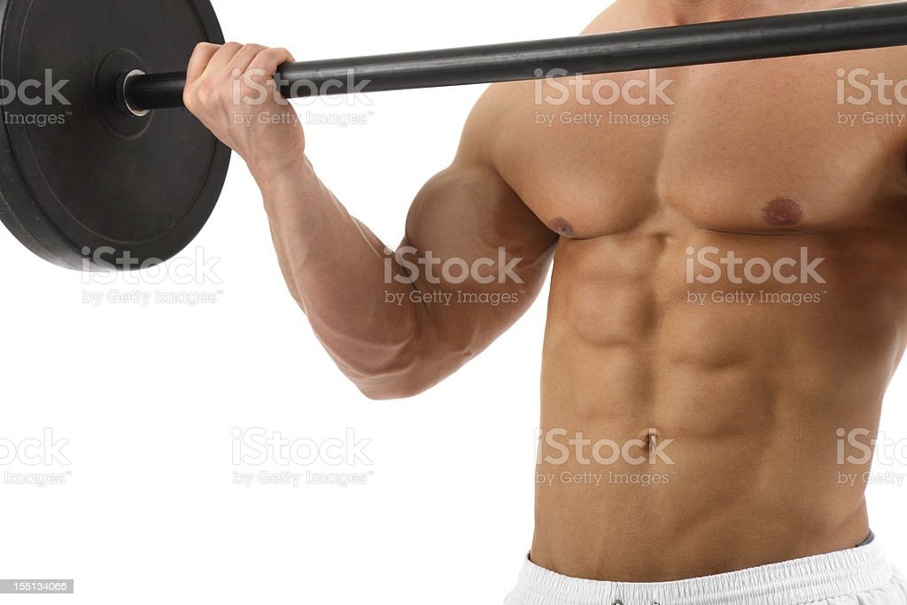 Bodybuilding royalty-free stock photo