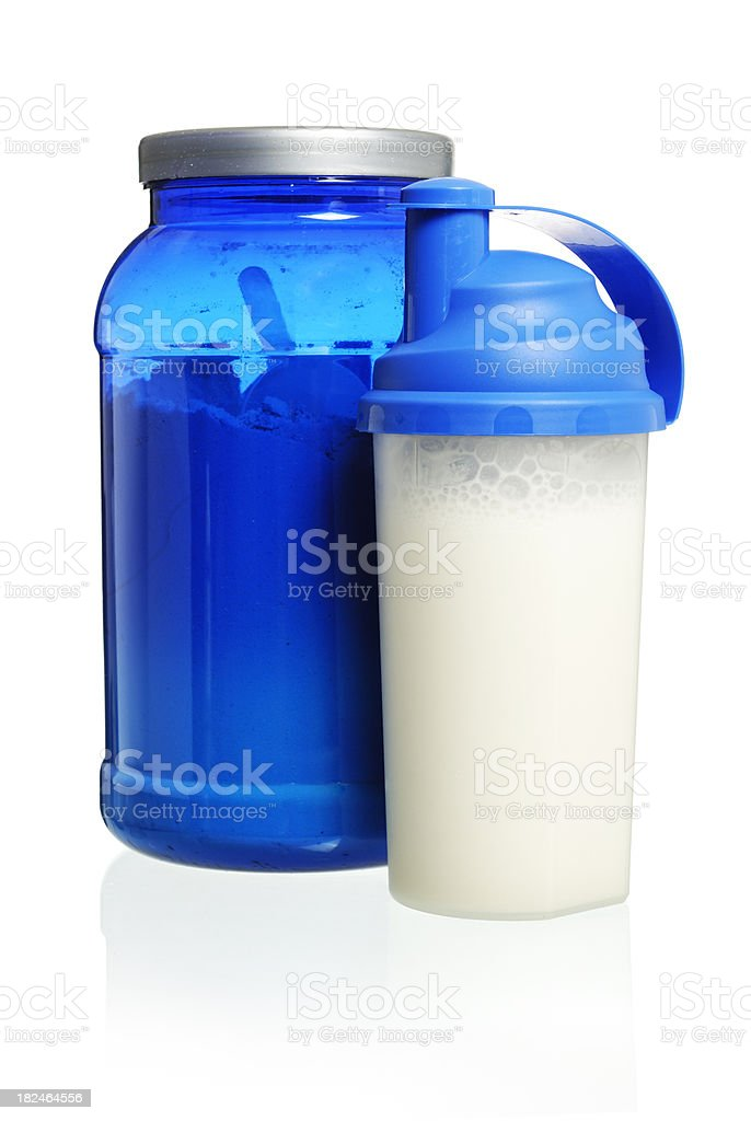 bodybuilding products stock photo