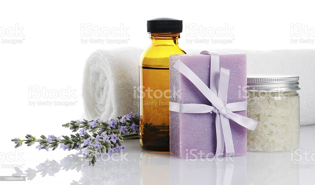bodycare products royalty-free stock photo
