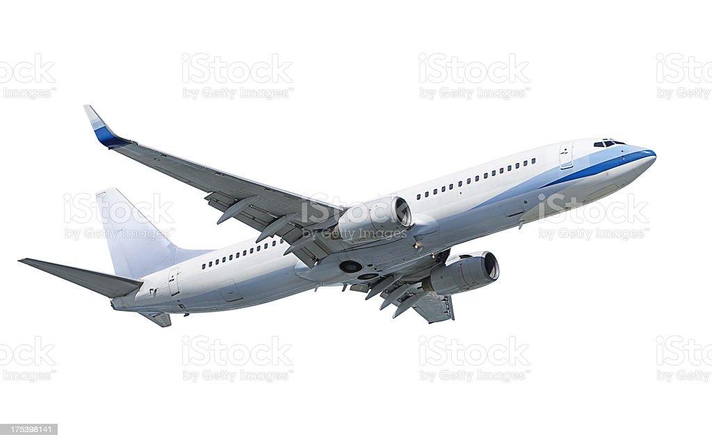 Boeing 737 aeroplane royalty-free stock photo