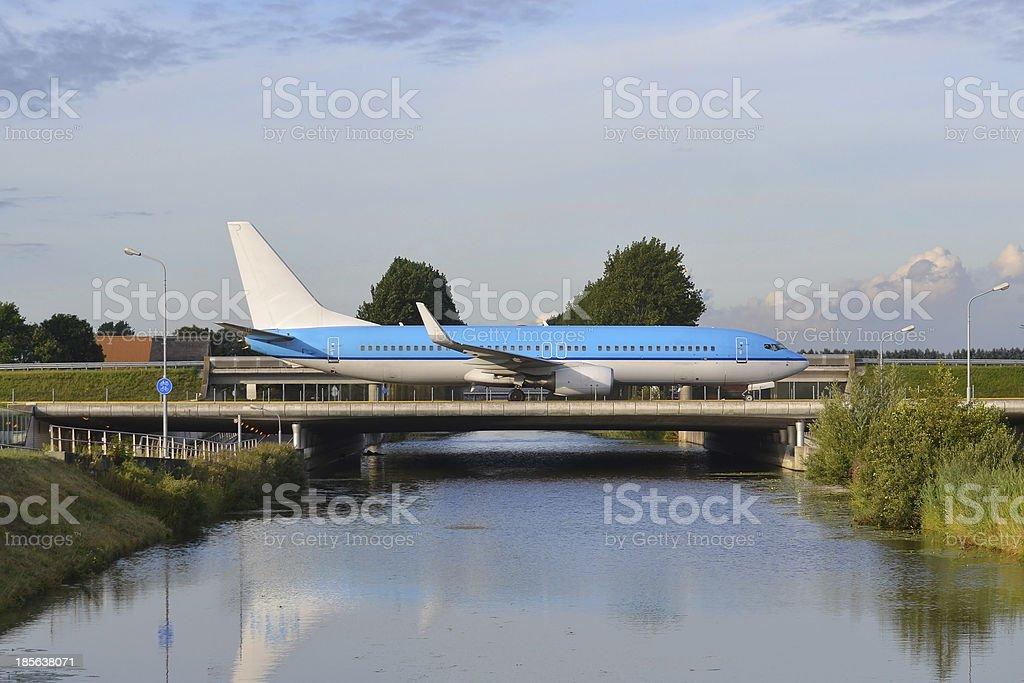 Boeing 737. royalty-free stock photo