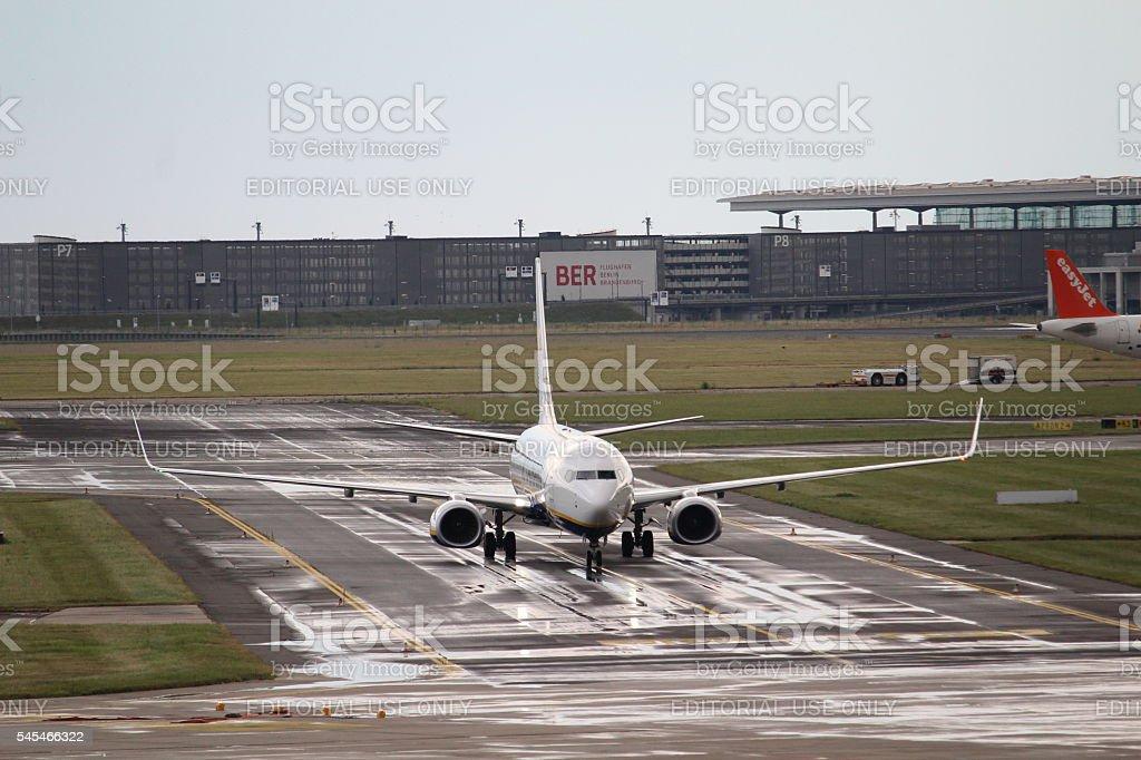 Boeing 737 stock photo