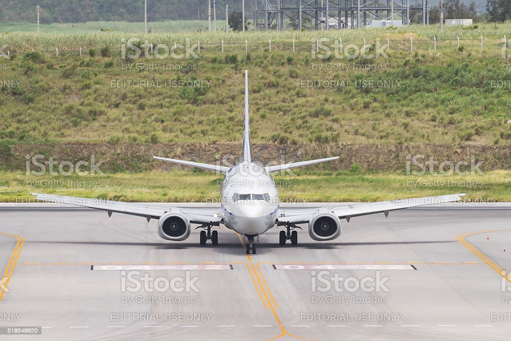 Boeing 737-500 stock photo