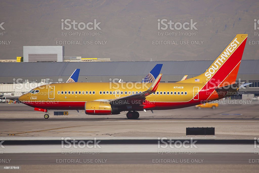 Boeing 737-800 Florida of Southwest Airlines royalty-free stock photo