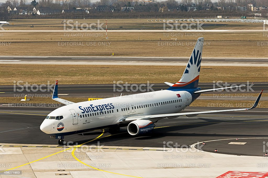 Boeing 737-800 royalty-free stock photo