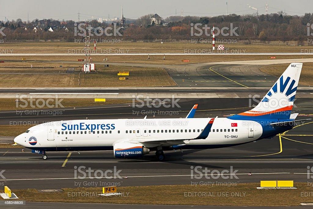 Boeing 737-800 royalty-free stock photo