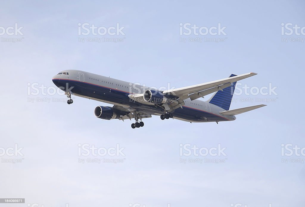 boeing 757 royalty-free stock photo