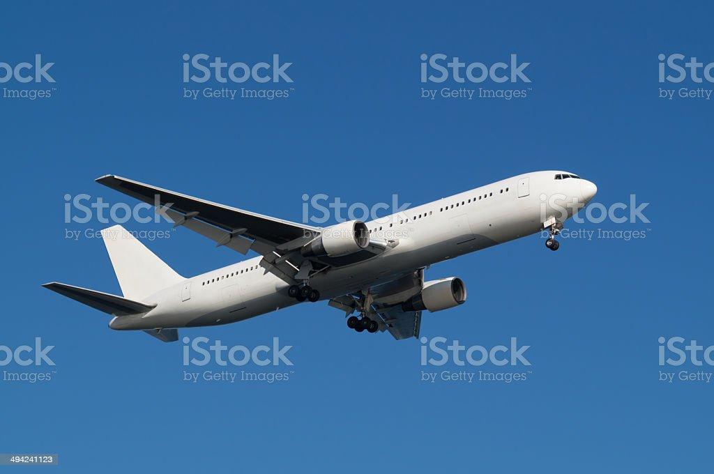 Boeing 767-300 royalty-free stock photo