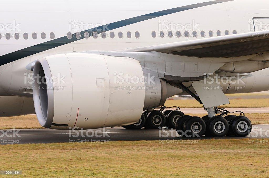 Boeing 777 Detail stock photo