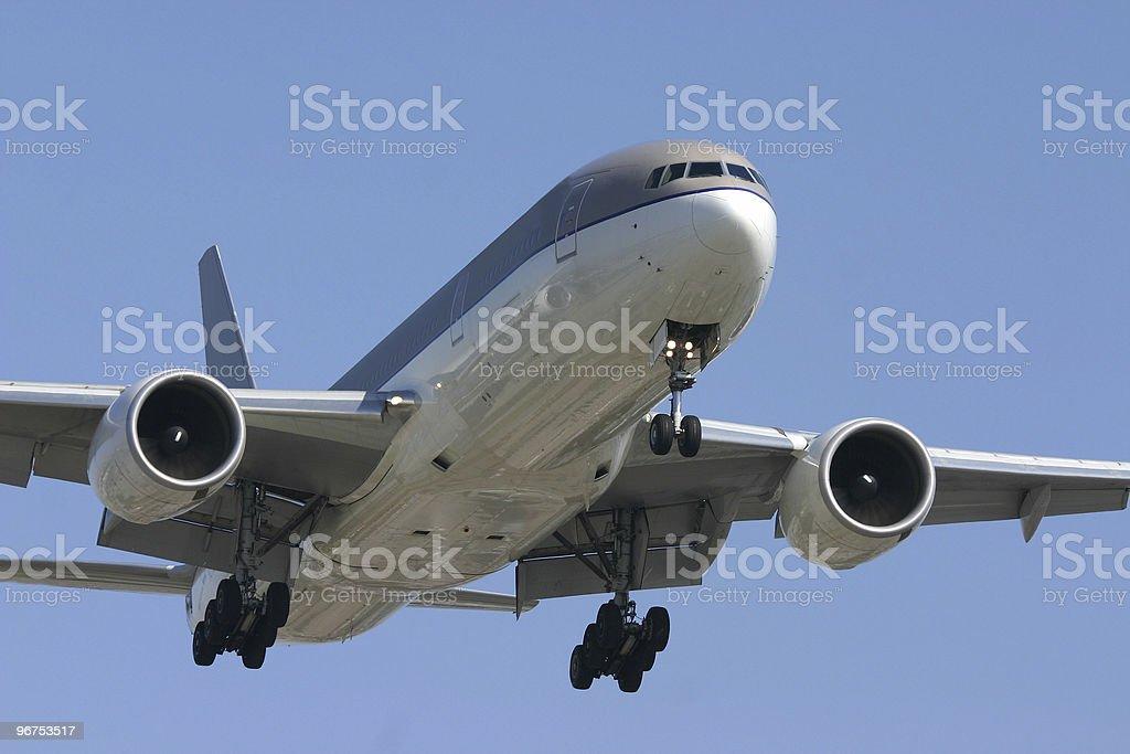 Boeing 777 stock photo