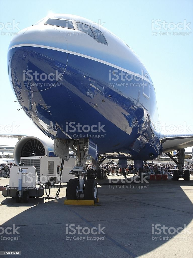 Boeing 777-200LR royalty-free stock photo