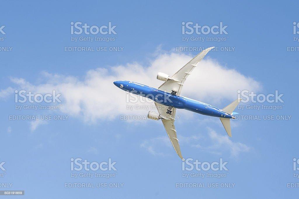 Boeing 787 Dreamliner stock photo