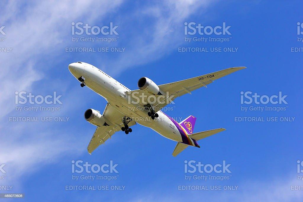 : Boeing 787-800 Dreamliner stock photo
